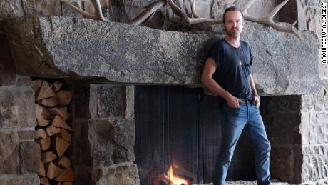 Inside 'Breaking Bad' actor's cabin-style Idaho retreat