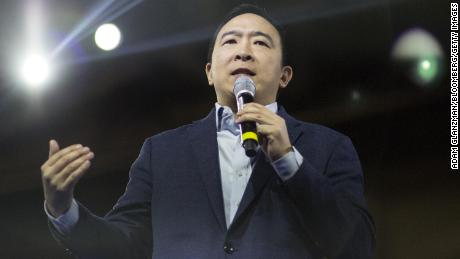 In photos: Former presidential candidate Andrew Yang
