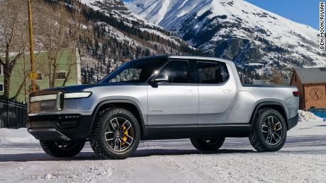 Rivian plans to deliver its pickup truck, the R1T, this summer.