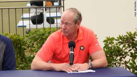 Astros apologize again for sign stealing, but owner Jim Crane says he shouldn't be held accountable