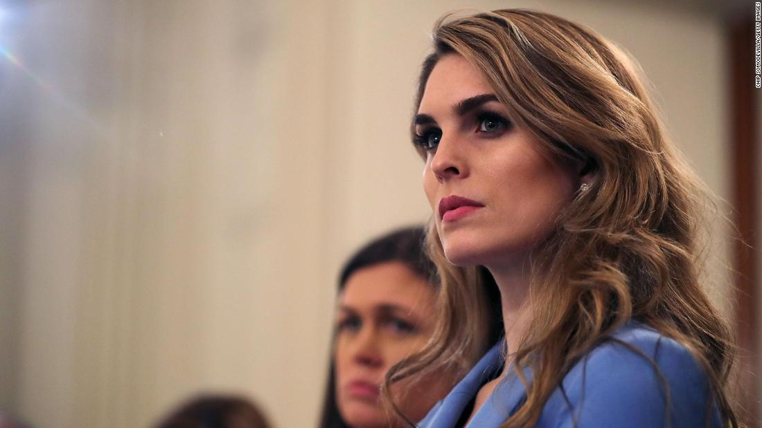 Top White House adviser Hicks no longer works at the White House, a previously planned departure - CNN