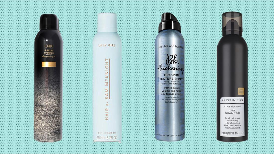 The best dry shampoos, according to celebrity hairstylists