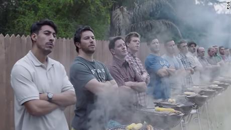 """""""Is this the best a man can get?"""" Gillette's ad asked, referencing the brand's nearly 30-year-old tagline. (Procter & Gamble)"""
