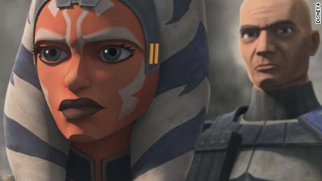 Ahsoka Tano in the animated 'Star Wars: The Clone Wars.'