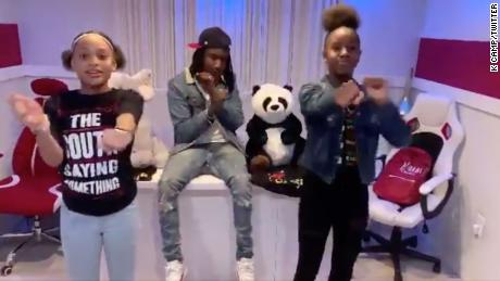 Jalaiah Harmon, the teen who created the viral Renegade dance, performed at the NBA All-Star game
