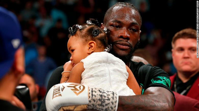 Deontay Wilder blames 40lb Black History Month costume for Fury defeat