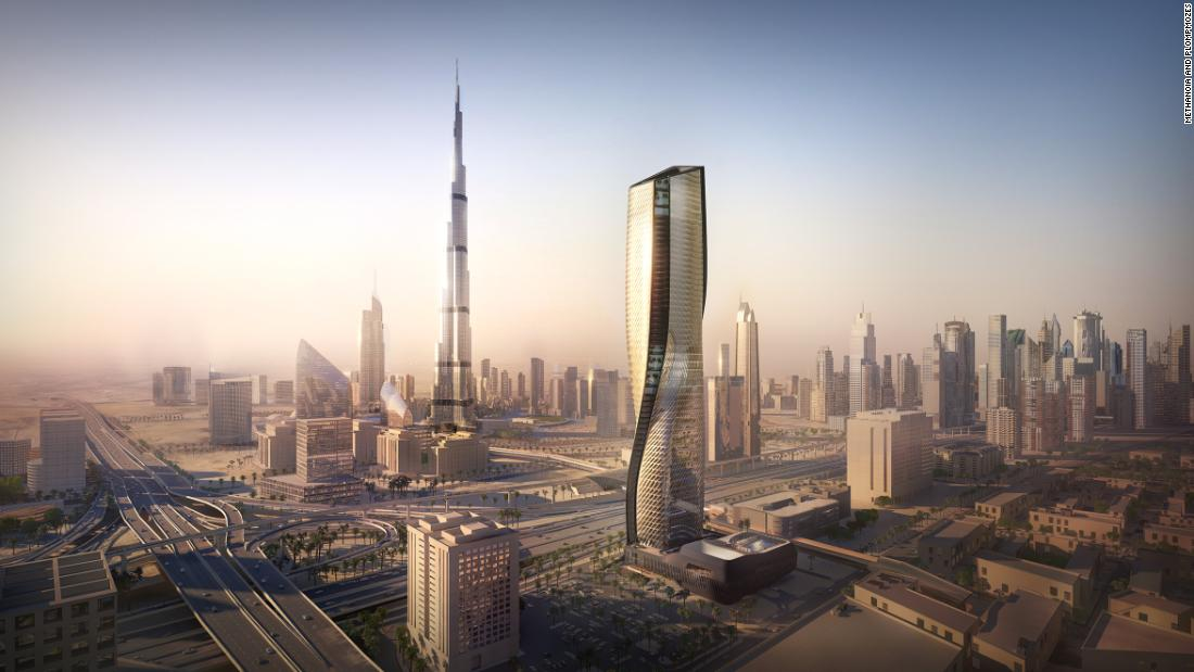 The supertall ceramic tower that 'breathes'