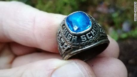 Debra McKenna lost the class ring her future husband gave to her 47 years ago in Portland, Maine. It was just found in a forest in Finland.