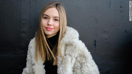 Alex French, 16, rose to fame quickly on TikTok after several of her videos went viral.