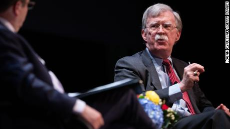 Trump administration sues Bolton over book dispute