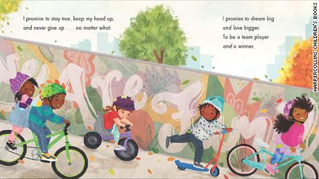 The book is illustrated by New York Times bestselling children's book artist Nina Mata.