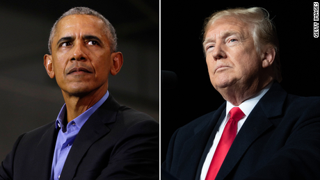 Obama White House portrait unveiling not expected as Trump accuses him of crime