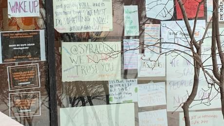 Syracuse University students renew protests following administration's response to racist incidents