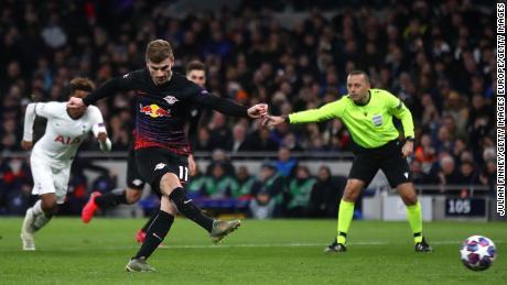 Le RB Leipzig domine Tottenham Hotspur en Ligue des champions