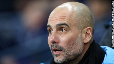 Pep Guardiola says he intends to stay at Manchester City despite UEFA ban.