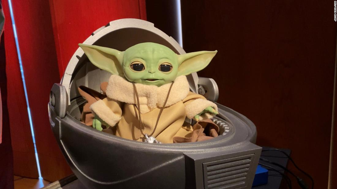 This animatronic Baby Yoda is seriously impressive and up for preorder now