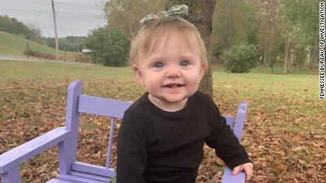 Authorities believe they found 15-month-old Evelyn Boswell's remains