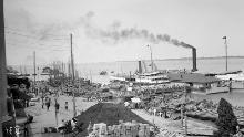 An industrial scene in Hankow.