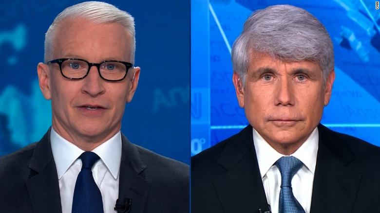 Watch Anderson Cooper Eviscerate Rod Blagojevich During Heated Interview