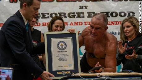 Ex-Marine, 62, Beats Guinness World Planking Record