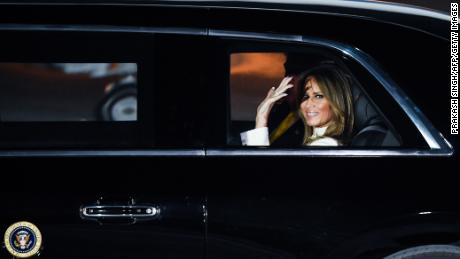 Melania Trump stresses the importance of taking masks seriously