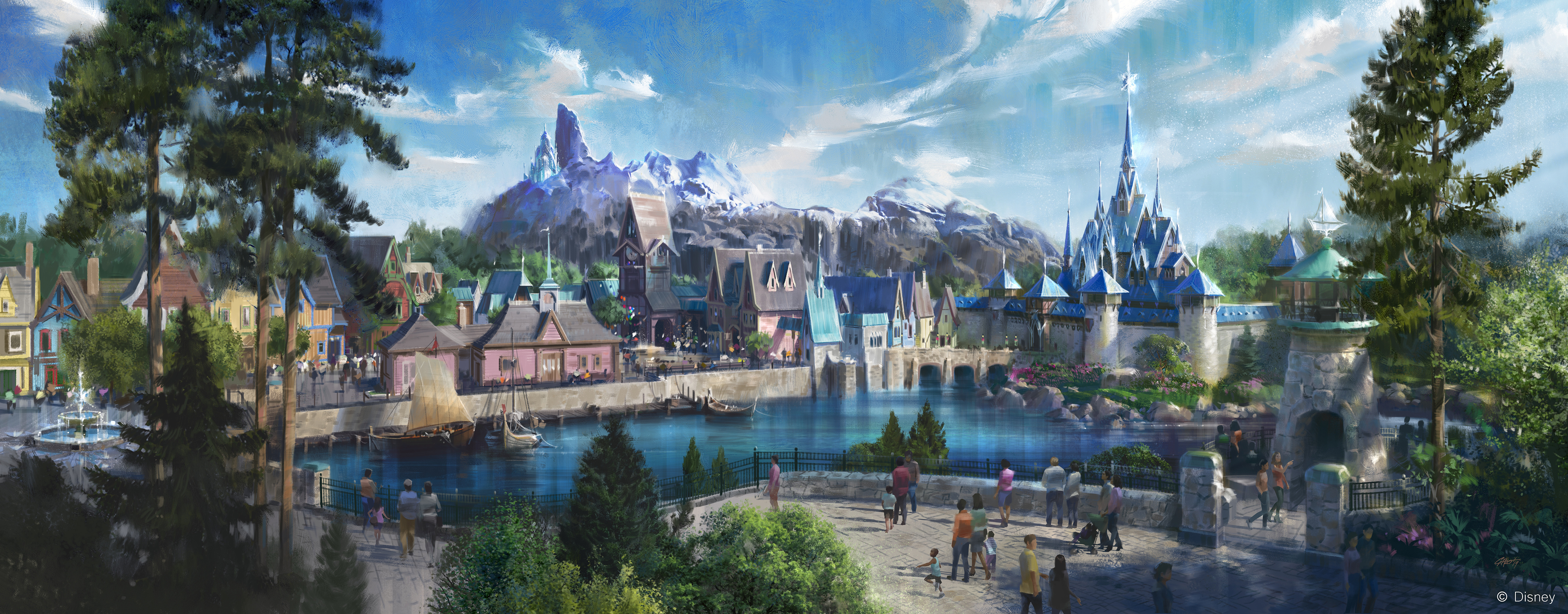 First Look Frozen Land Is Coming To Disneyland Paris Cnn Travel