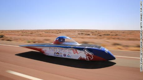 Chasing the sun: Racing 1,800 miles by solar power