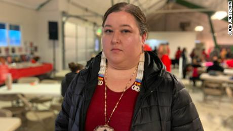 Annita Lucchesi has gathered information on thousands of cases of murdered and missing native women.