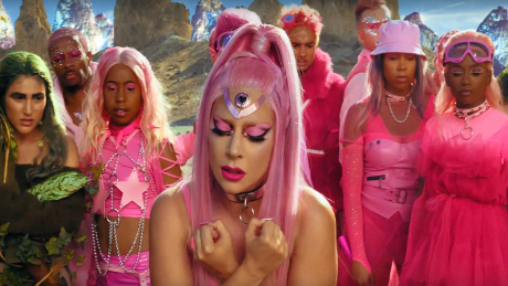 Lady Gaga drops out of this world video for new single 'Stupid Love'