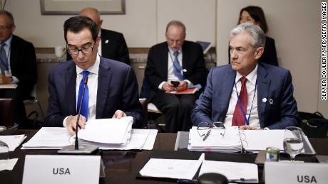 Mnuchin suggests 'risk of permanent damage' to economy as shutdowns continue