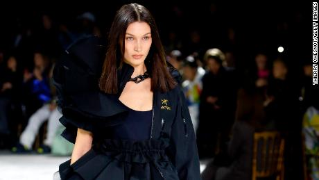What does model Bella Hadid miss about city life amid the pandemic?