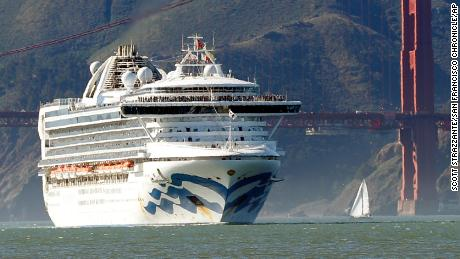 Cruise ship with thousands aboard in limbo off the California coast as it awaits coronavirus results