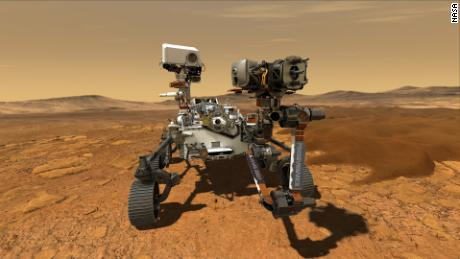 Mars 2020 rover is officially named 'Perseverance'