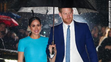 Harry And Meghan Appear At Mountbatten Festival Of Music