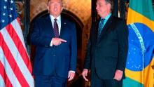 La visita de Bolsonaro en marzo a Trump fue un
