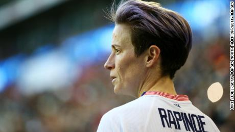Megan Rapinoe was not happy with the latest open letter from US Soccer.