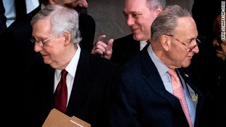 Tensions run high on Capitol Hill as Senate works to advance economic stimulus