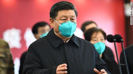 Chinese President Xi Jinping in Wuhan, Tuesday.