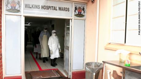 Patient who 'absconded' Zimbabwe hospital tests negative for coronavirus