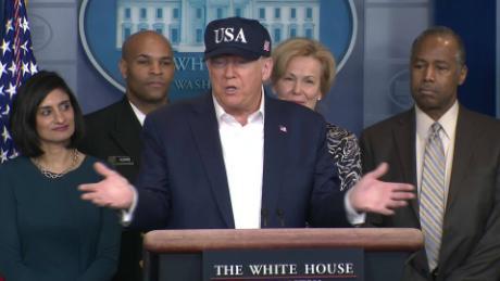 Trump's negative coronavirus test doesn't put him in the clear