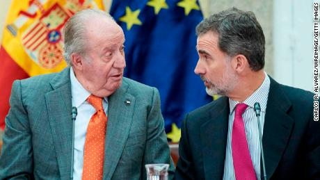 Spain's King Felipe VI renounces his inheritance from his father