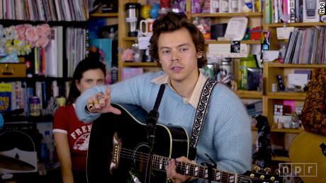 Please Take A Moment & Enjoy Harry Styles' Delightful Tiny Desk Concert