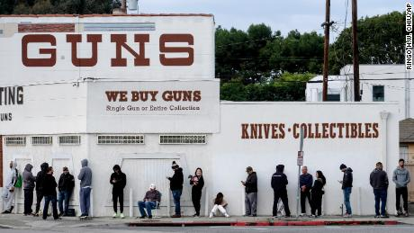 Gun sales surge as coronavirus pandemic spreads