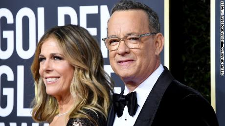 En quarantaine en Australie, Tom Hanks et son épouse vont