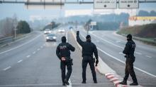 Spain is on lockdown due to the coronavirus outbreak, with police manning checkpoints.