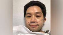 He tweeted about his symptoms and coronavirus diagnosis problems. His husband says he was then put on a ventilator
