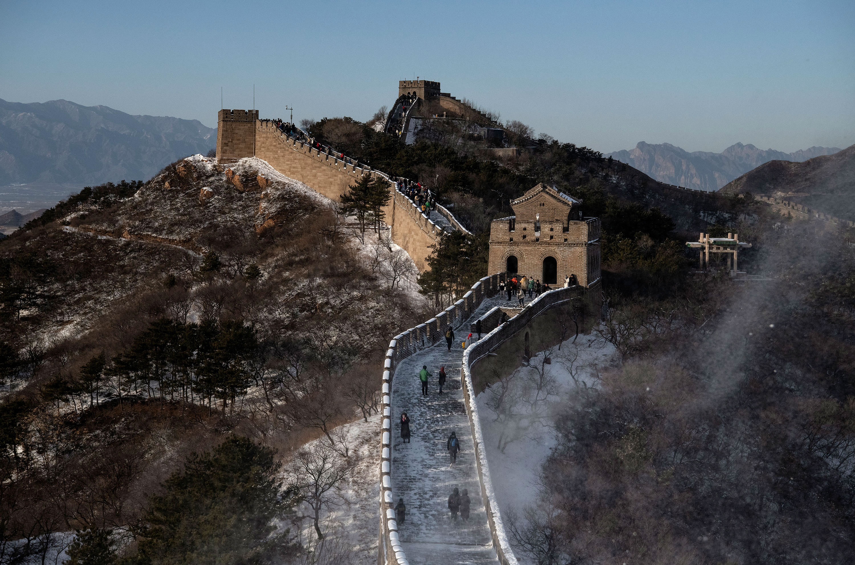 Great Wall of China Badaling section reopens to visitors | CNN Travel