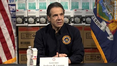 New York governor demands stockpiled ventilators go to his state first in fiery news conference