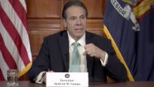 New York Gov. Cuomo says social distancing efforts are working to slow coronavirus