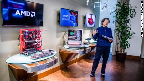AMD's chips power cloud computing, data centers, artificial intelligence and gaming. Those technologies are dominant in 2020. But Su had to lay the groundwork years earlier. (Drew Anthony Smith for CNN)